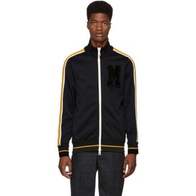 Moncler/Black Logo Track Jacket