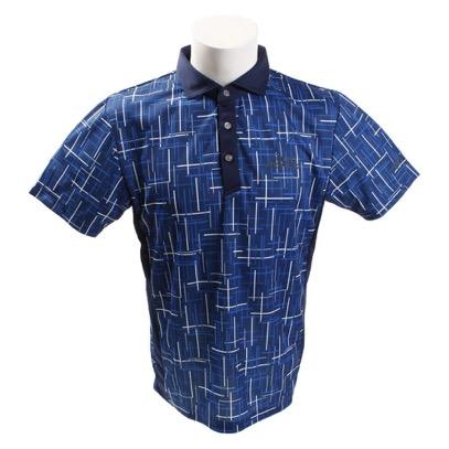 ランダムラインプリントシャツ