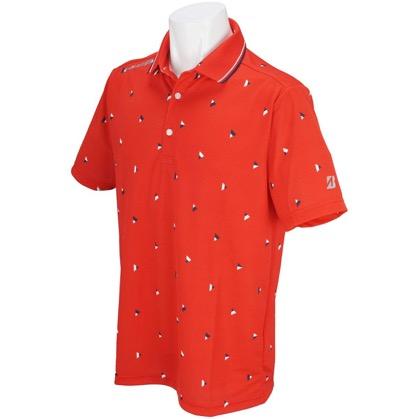 半袖台付きポロシャツ