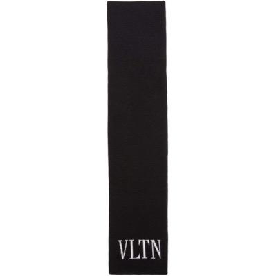 Valentino/Black Valentino Garavani 'VLTN' Scarf