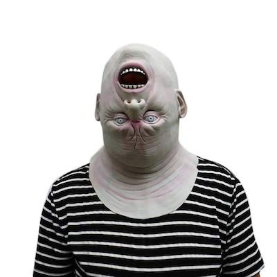 逆さゾンビ マスク