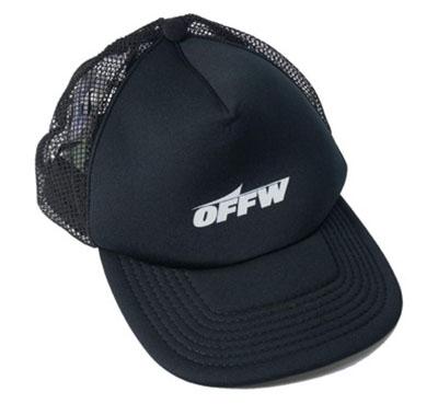 OFF-WHITE/ベースボールキャップ ロゴプリント