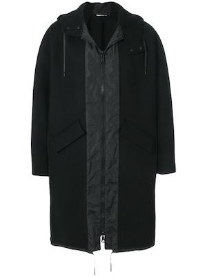 Valentino/オーバーサイズフーデッドコート