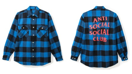 Montreal FLANNEL ブルー