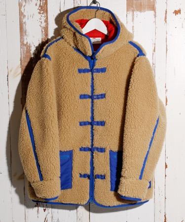 VOTE MAKE NEW CLOTHES/WU RETRO FLEECE JKT