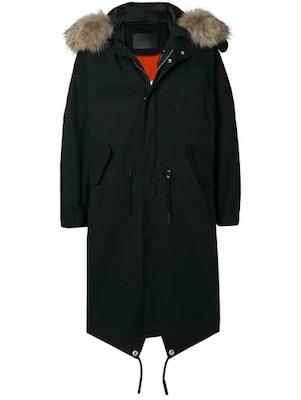 Givenchy/サイドラインパーカーコート