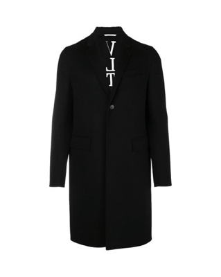VALENTINO/Men`s classic single breasted coat