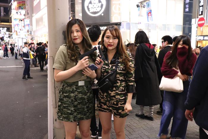 ハロウィン 渋谷 スナップ