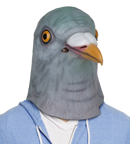 鳩 マスク