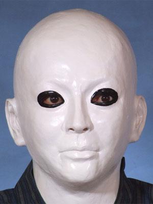 犬神家の一族風 マスク