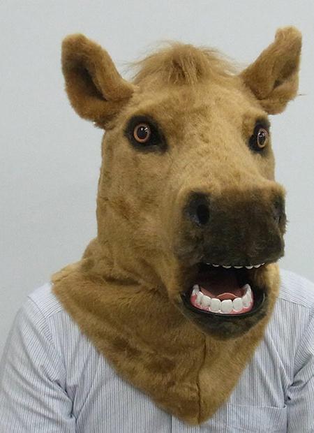 馬 マスク