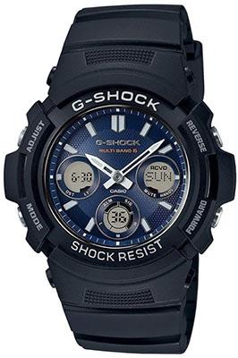 CASIO/ウェーブセプター電波ソーラー時計