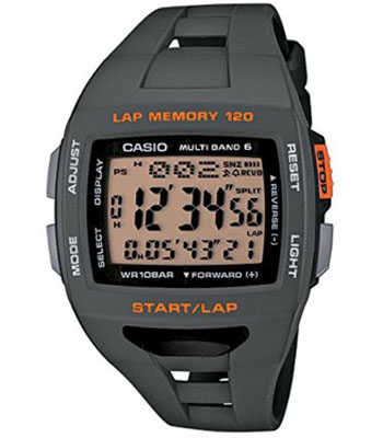 CASIO/フィズ LAP MEMORY 120 電波ソーラー時計