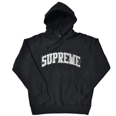 Supreme/WATER ARC HOODED SWEATSHIRT