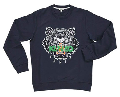KENZO/TIGER FACE CREW SWEAT
