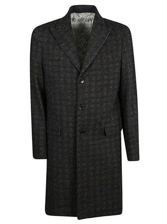 Etro/ブラックウールコート