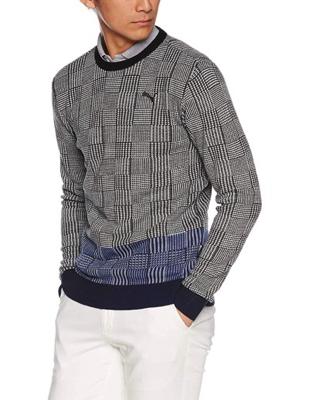 PUMA GOLF/フィルタークルーネックセーター