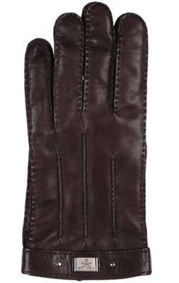 PRADA/ラムレザーカシミヤ手袋