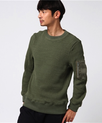 LITHIUM HOMME/MA-1 THERMINAL LONG SLEEVE