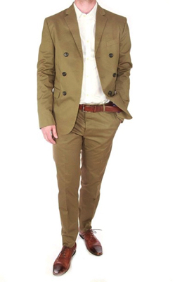 DSQUARED2BROWN SUIT