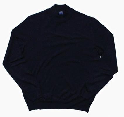 FEDELI/ハイネックセーターネイビー