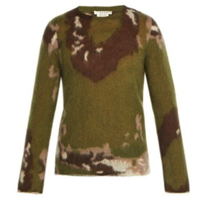 ALYX/Briar camouflage mohair-blend sweater