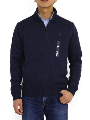 POLO Ralph Lauren/コットンハーフジップセーター