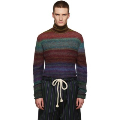 Missoni/Multicolor Mohair Turtleneck