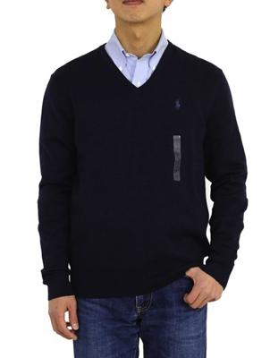 POLO Ralph Lauren/ピーマ綿Vネックセーター