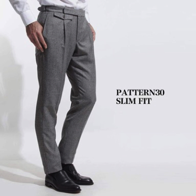 INCOTEX/PATTERN30 SLIM FIT