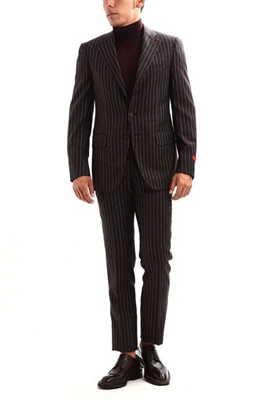 ISAIA/GREGORY  130'S ARCHIVE 1957 Chalk stripe