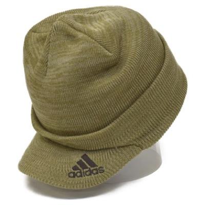 adidas/ツバ付きKNIT CAP