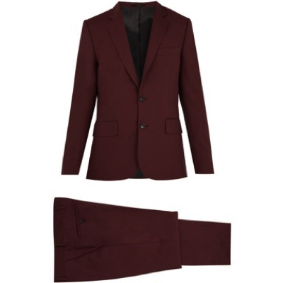 Paul Smith/Single-breasted wool suit