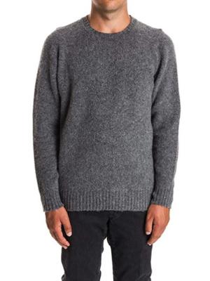 Drumohr/グレーウールセーター