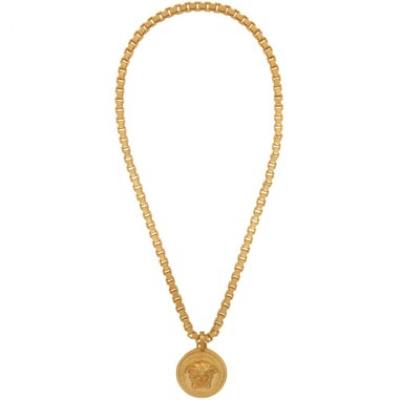 Gold Medusa Necklace