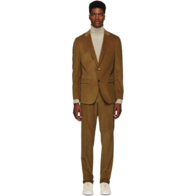 Hugo Boss/Brown Novan 5 Ben 2 Suit