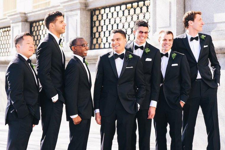 結婚式 スーツ