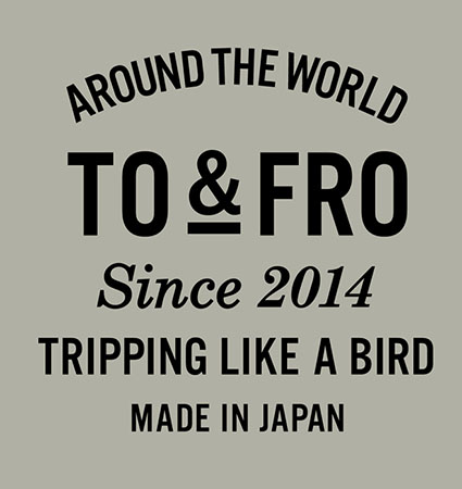 TO&FRO ロゴ