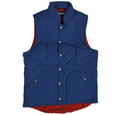 QUILTED TRAIL VEST