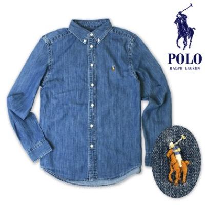 Polo Ralph Lauren/シャンブレー カジュアルシャツ