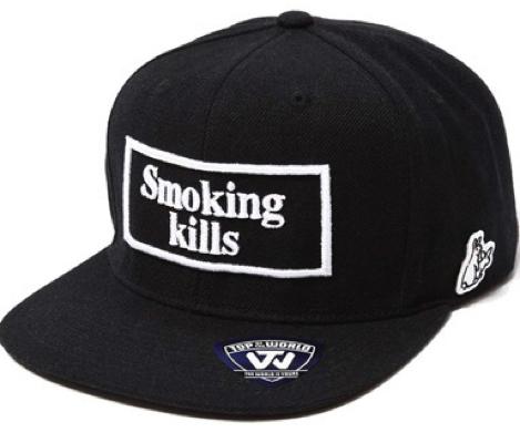 Smoking kills キャップ