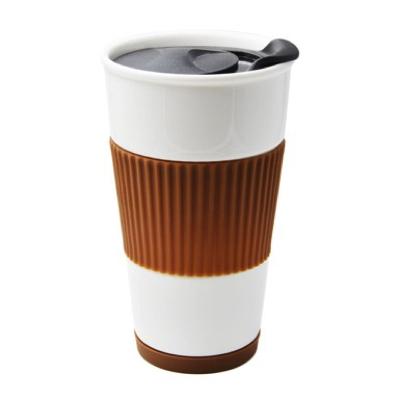 UDMG 二重構造断熱コーヒーカップセラミックタンブラー