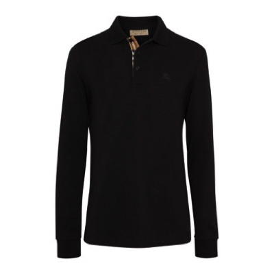 BURBERRY/Hartford Long Sleeve Polo