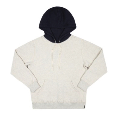 Heavyweight Combo Hoody Ash