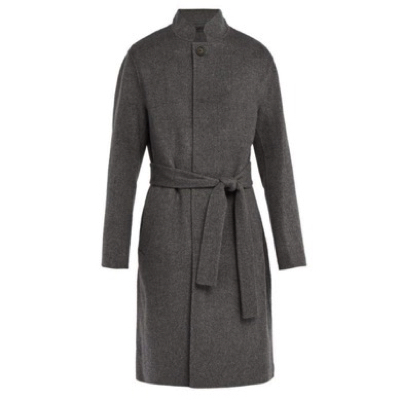 Acne Studios/Belted wool-blend coat
