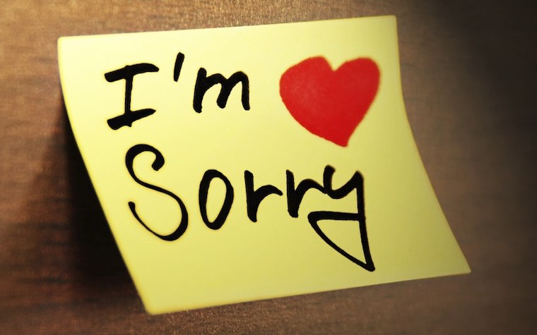 ごめんの手紙