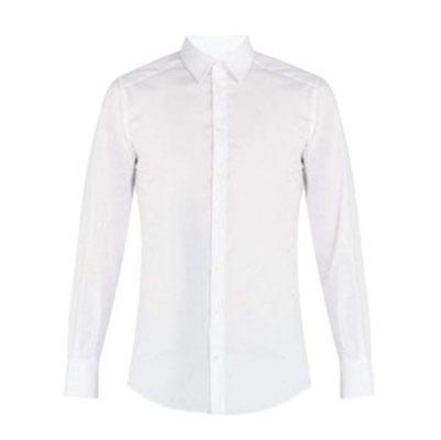 Dolce & Gabbana/Johnny stretch-poplin shirt