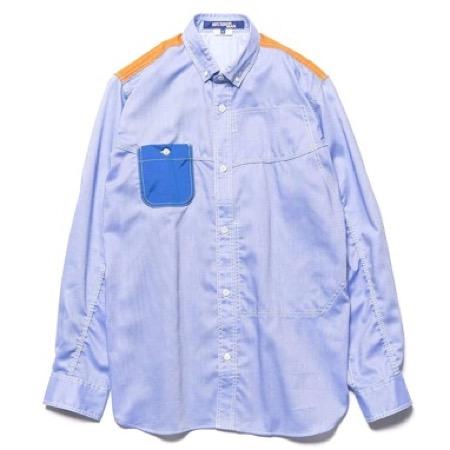 Junya Watanabe/Cotton Oxford Check Shirt