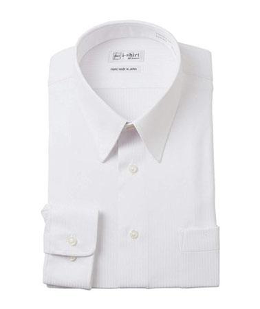 nissen/ノーアイロン長袖ストレッチ iシャツ (レギュラーカラー)