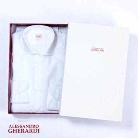 ALESSANDRO GHERARDI/SLIM FIT SHIRTS